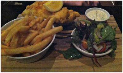 Fish & Chips....