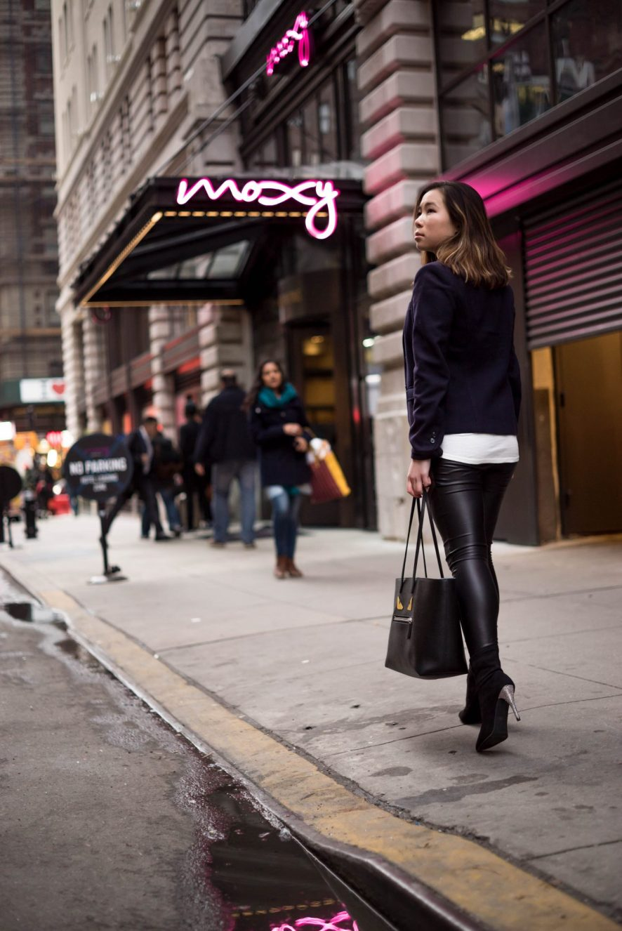 Kasey Ma at the Moxy Hotel Garment District