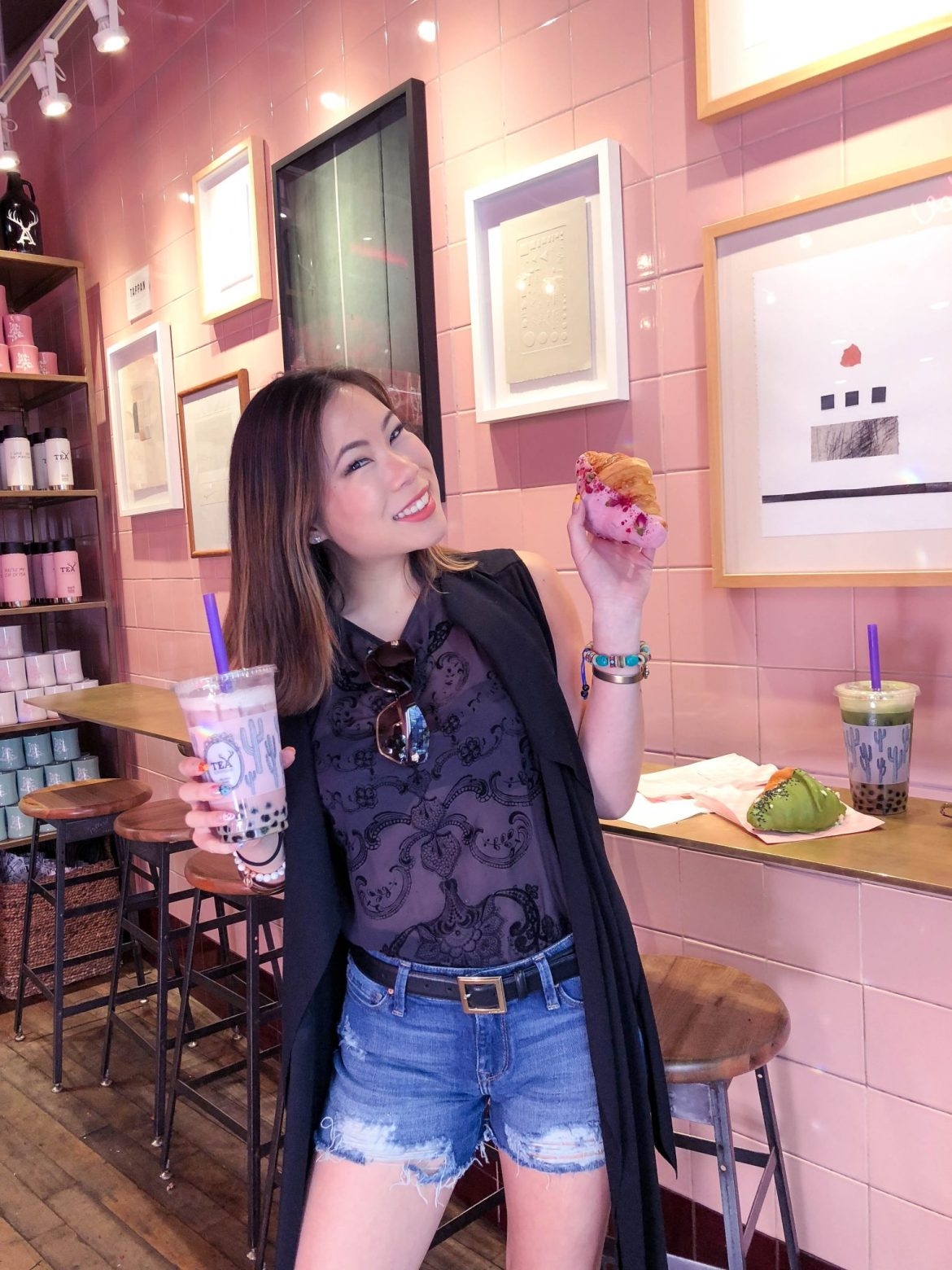 Alfreds Tea Room Los Angeles Kasey Ma TheStyleWright LA Travel