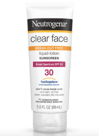 neutrogena clear face beauty counter lips skin sunscreen sunblock suncare kasey ma thestylewright