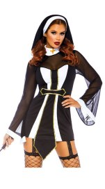 Twisted Sister nun costume yandy halloween