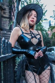 Yandy Yandy Lingerie Yandy Intimates Yandy Halloween Costume Halloween Costume Kasey Ma TheStyleWright Beauty Blogger Fashion Blogger Lifestyle Blogger Influencer Asian Influencer Chinese Influencer Witch Craft Holidays Adult Halloween Costumes Halloween 2018 Witch Costume Sexy Adult Halloween Costume ootd Holiday Style Fall Fashion Fall Beauty East Village Over The Knee Boots