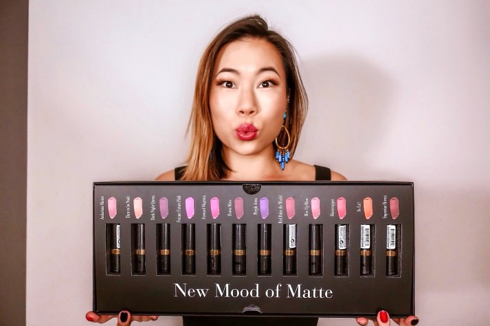 Kasey Ma of the StyleWright Beauty Giveaway Revlon New Mood of Matte 12 Set