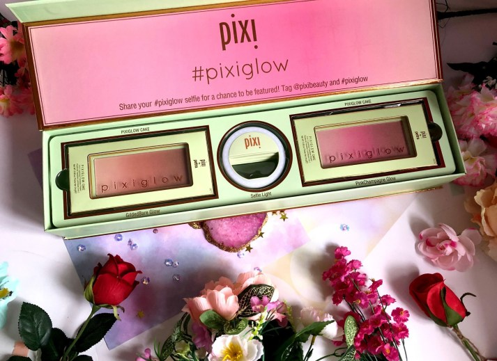 Beauty Giveaway PixiGlow Highlight Contour Selfie Light Makeup Beauty Set