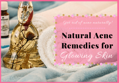 Natural Acne Remedies For Glowing Skin Pin