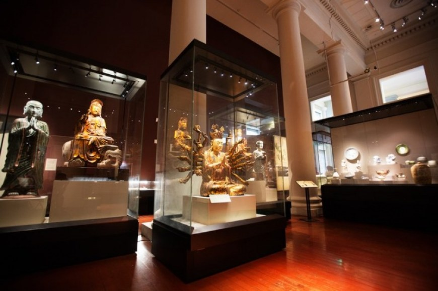 Kasey Ma of theStylewright The Asian Civilizations Museum in Singapore