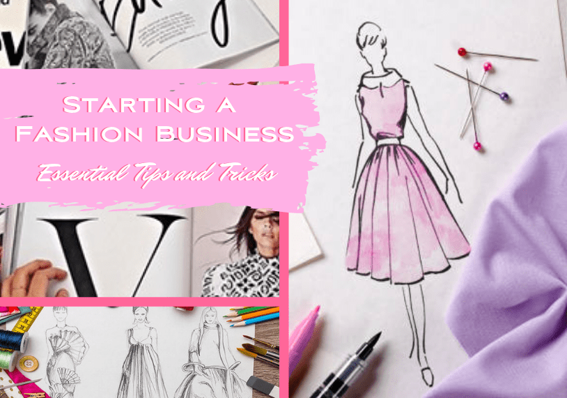 Kasey Ma of The StyleWright How to Start a Fashion Business Essential Tips and Tricks Blog Graphic
