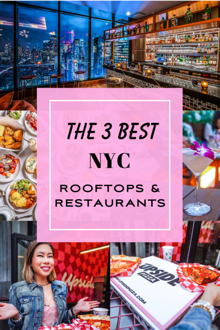 Kasey Ma of TheStyleWright Reviews the 3 Best Rooftops & Restaurants in the Garment District in NYC