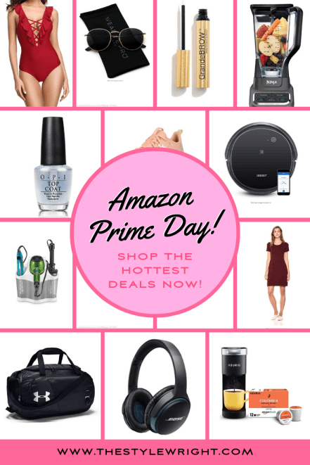Amazon Prime Day Sales 2019 Shopping Guide Pinterest Graphic