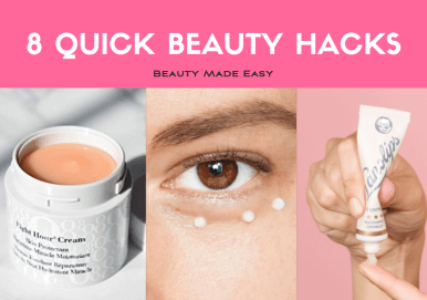 8 quick beauty hacks beauty made easy by beauty blogger kasey ma of thestylewright