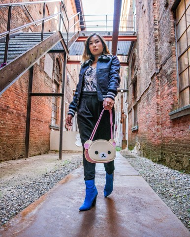 Kasey Ma of The StyleWright wearing her New York Fashion Week Look