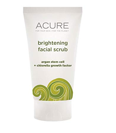 Acure brightening facial scrub that Kasey is sending for her Beauty Giveaway