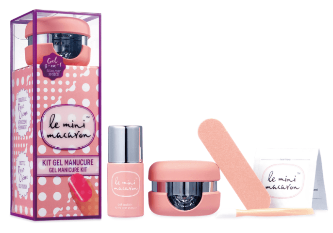 Le Mini Macaron Gel Manicure Set that Kasey is sending for her Beauty Giveaway
