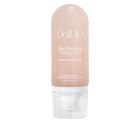 Doll 10 Skin Reviving Setting Mist that Kasey is sending for her Beauty Giveaway