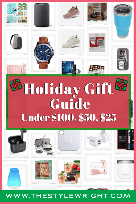 Holiday Gift Guides under $100 , $50, and $25 for christmas