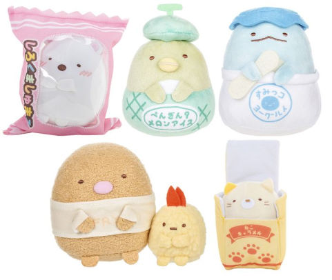 Larger Sumikko Gurashi collection