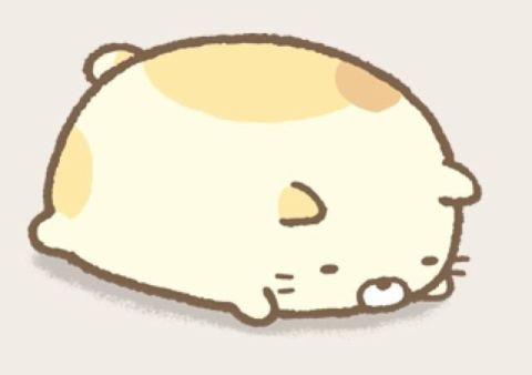 Neko, one of the Sumikko Gurashi characters that is a cat