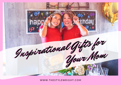 inspirational gifts to buy and go shopping for your mom