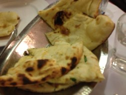 Naan, my favorite- butter and garlic