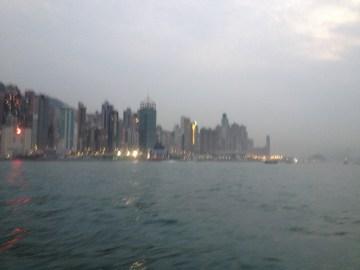 Hazy view...