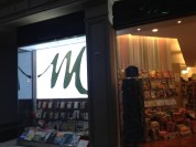 Bookstore front...