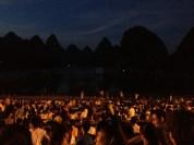 Show begins after sunset...