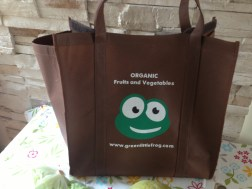Green Little Frog delivery