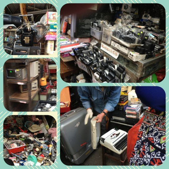 Sham Shui Po- where old electronics might get a second life.