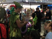 Of course you have Peter Pan and Tinkerbell making balloon animals, don't you? (Love Portland)