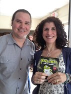Meeting Matthew Holm (again) was cool! Plus, very happy to get the new Squish novel.
