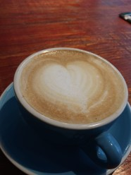 Yum to coffee (I admire but don't drink myself)