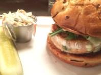 I loved my salmon burger...