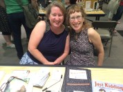 Caught up with the wonderful Rosanne Parry and Trudy Ludwig, love their books.