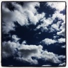 Love blue skes and clouds