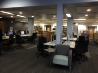 Beaverton High School newly remodeled library