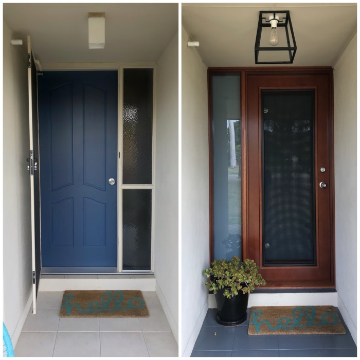 Front Entry Makeover With Doors Plus Guardian 2 In 1