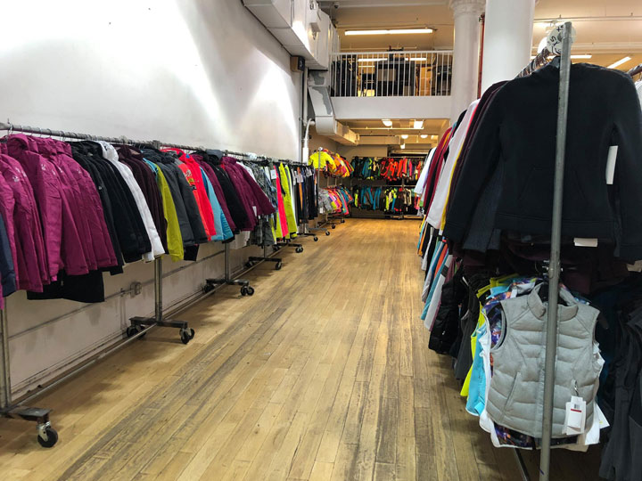 Pics from Inside the Spyder Warehouse Sale- TheStylishCity.com