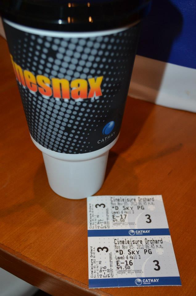 Somerset Cinema - Skyfall Tickets