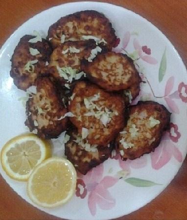 Tuna Potato Cakes with Tartar Sauce