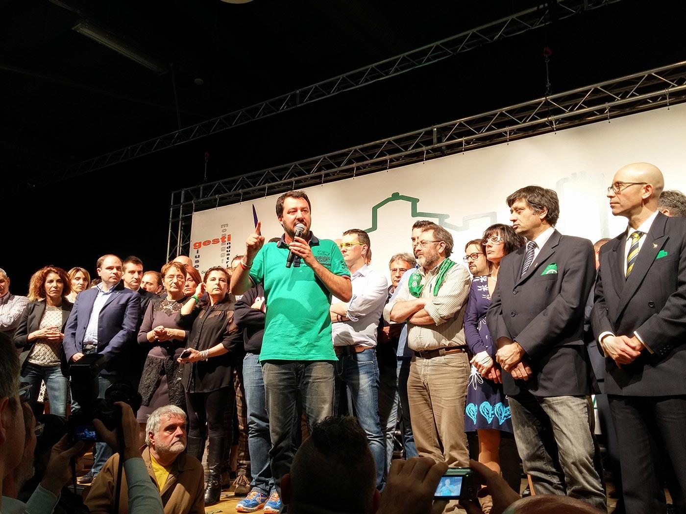 Matteo Salvini è assenteista anche in Consiglio Comunale