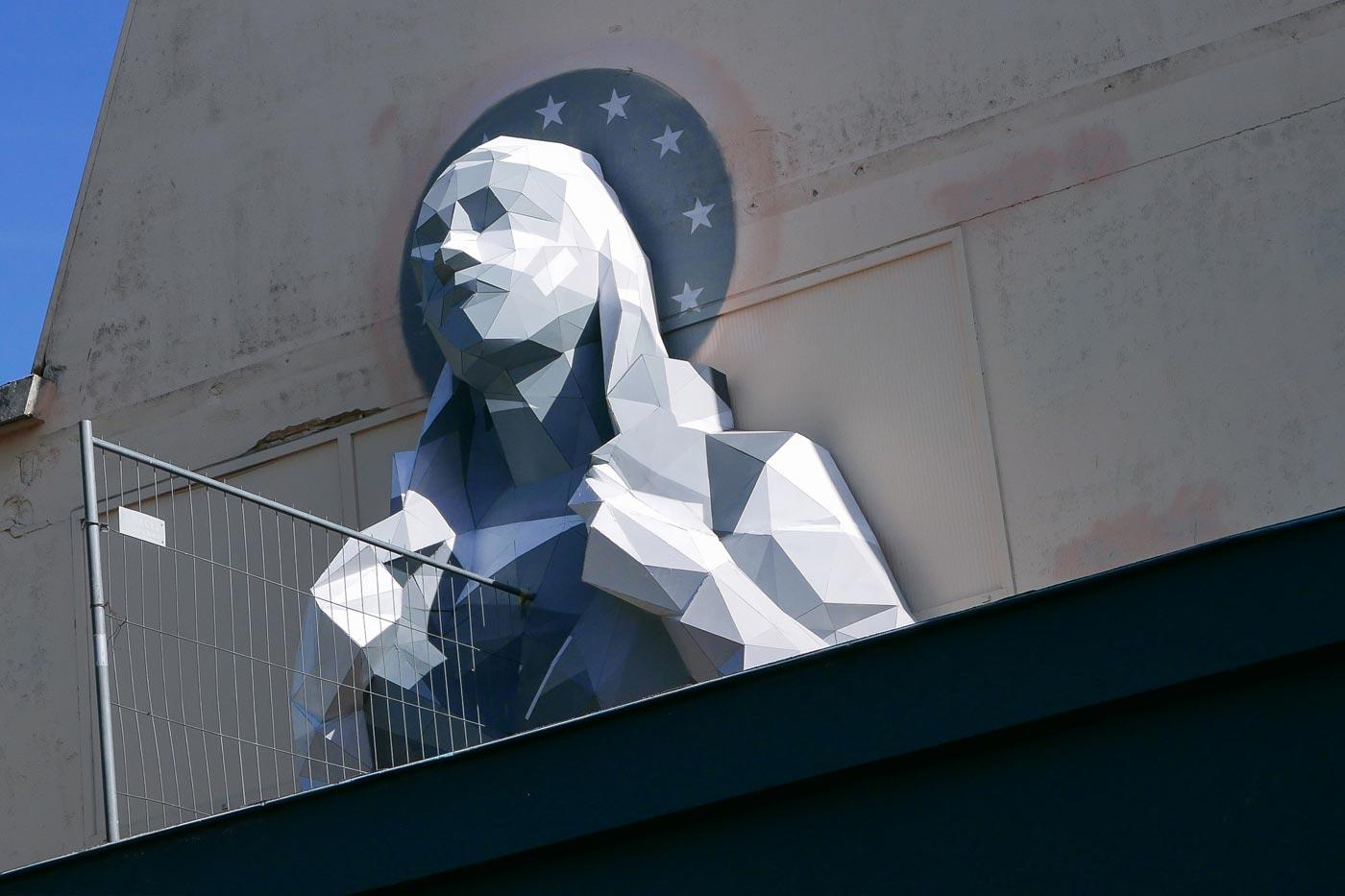 David Mesguich crea sculture umanitarie che sembrano computer grafica