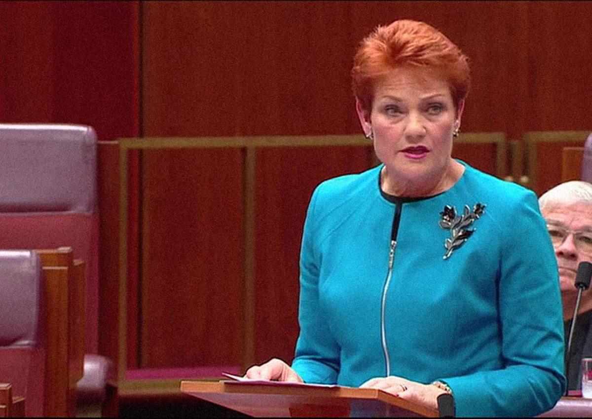 Pauline Hanson annuncia l'inizio dei 74esimi Hunger Games