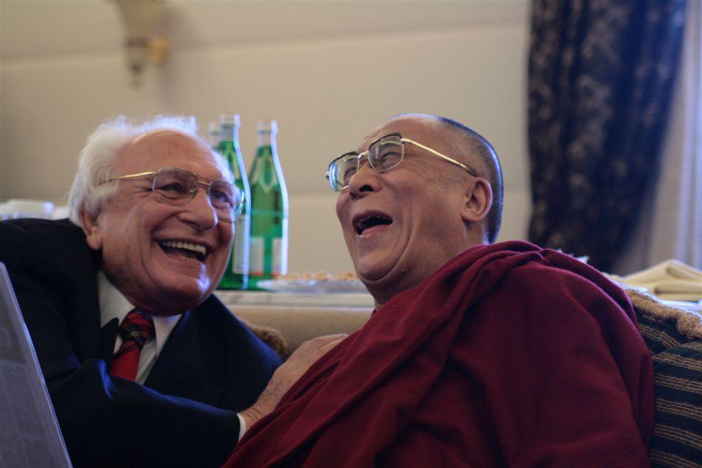 Pannella con il Dalai Lama