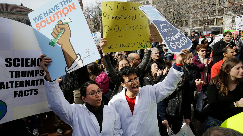 Scienziati in difesa del clima: dal Climategate alla March for Science