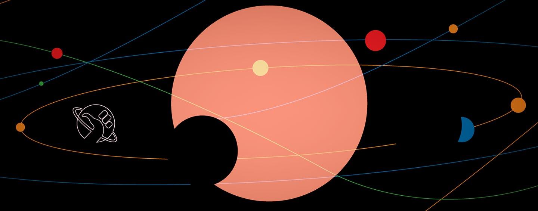 Le illustrazioni galattiche di Debora Senz'H