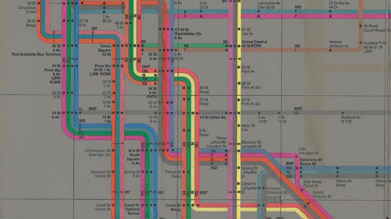 Le mappe della metro confrontate con la realtà (in GIF)