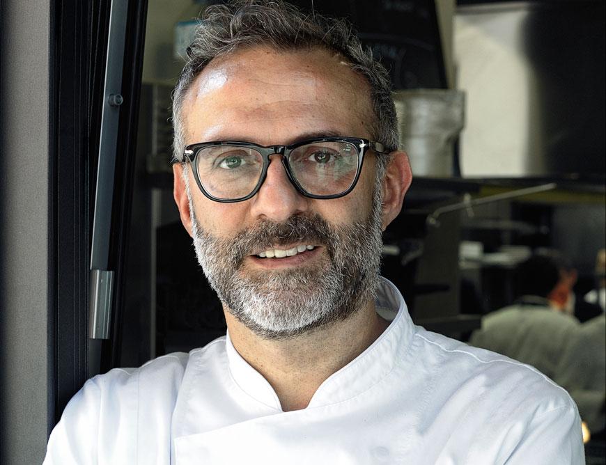 Massimo Bottura e il suo ristorante Osteria Francescana sono al secondo posto nel mondo.