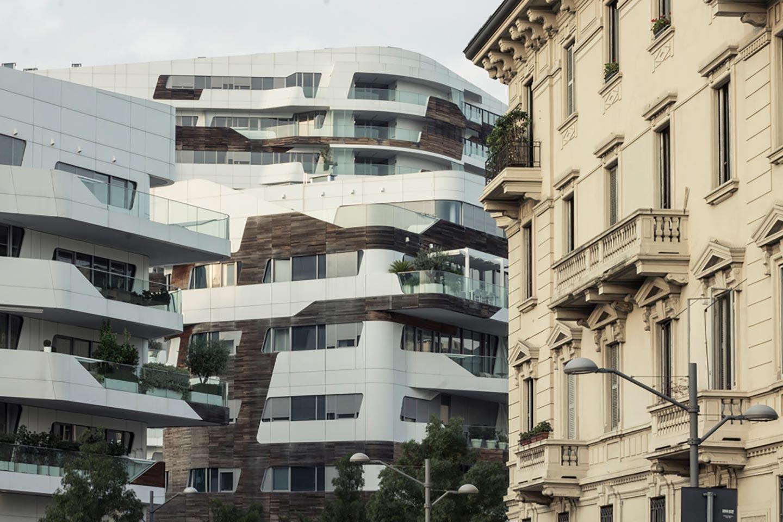 I segni su Milano degli architetti internazionali