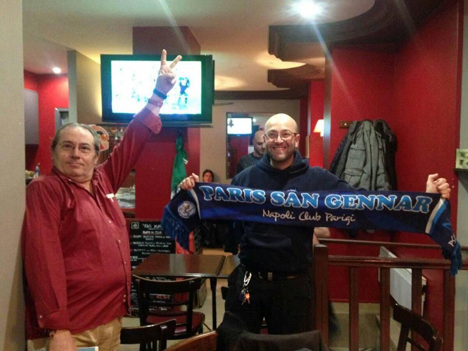 Siamo andati a vedere Chievo-Napoli a Parigi con il fan club Paris San Gennar'