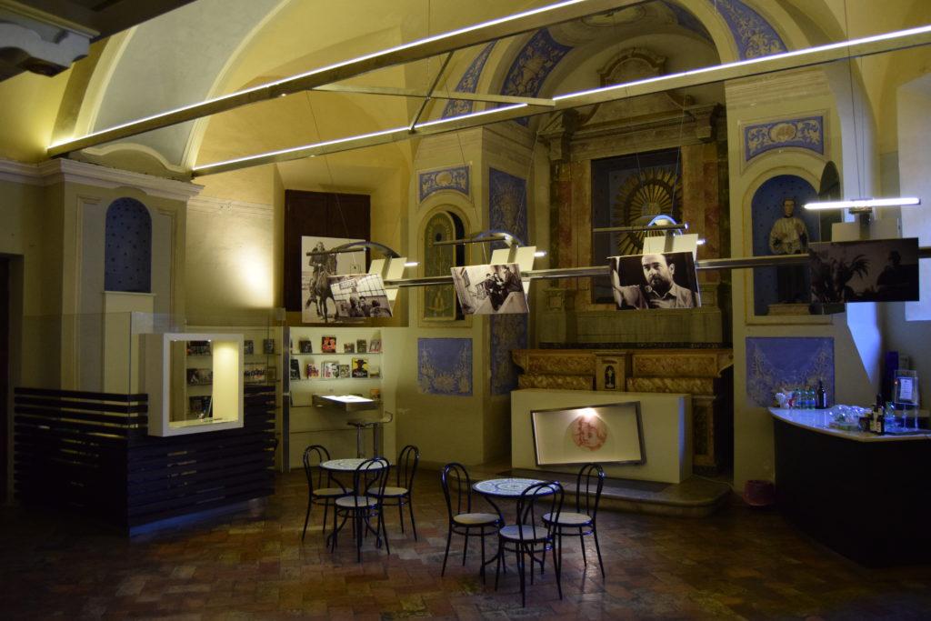 Sala degli artisti, Fermo
